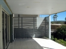 Privacy Screen - Aluminium Slats