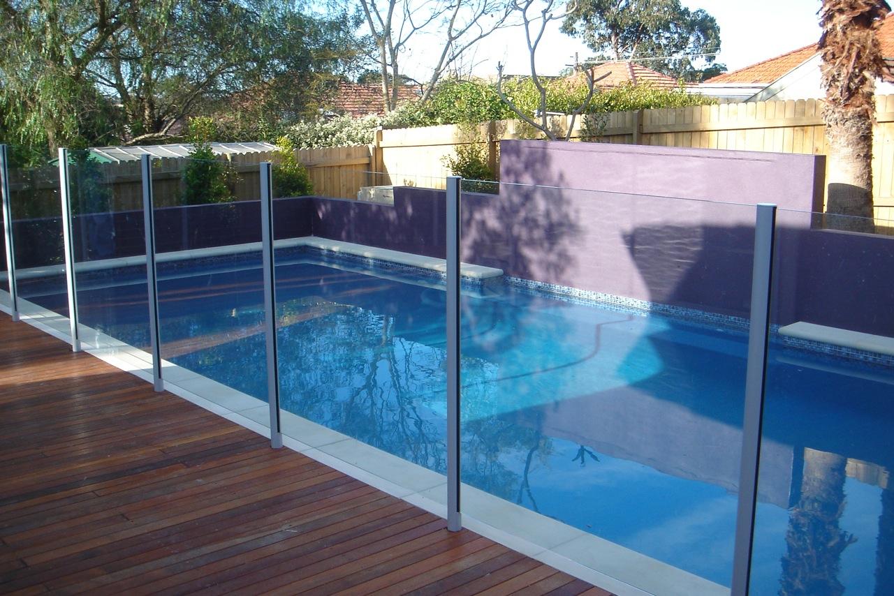 Pool Fencing North Side Railings